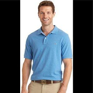 Vineyard Vines men's blue polo